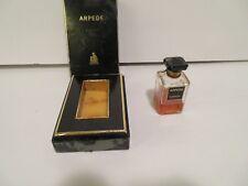 VINTAGE LANVIN ARPEGE 20ML FRANCE PURE PARFUM  EXTRACT* RARE IN ORIG BOX