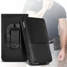 Phone Case Cover Pouch Holster w/Belt Clip✔Excellent Protection✔Vertical✔Black