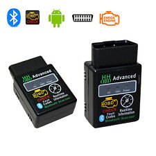 ELM327 HH OBD Advanced Bluetooth 2.1 ODB2 OBDII Car Auto Diagnostic Scanner Tool