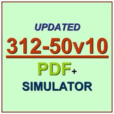 EC-Council 312-50V10 Certified Ethical Hacker V10 312-50 Test CEH Exam Q PDF+SIM
