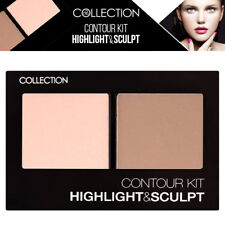 Collection Cosmetics Shimmer Face Contour Kit Matte Powder Highlight & Sculpt