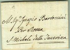 3260-STATO PONTIFICIO, PREF., DA TERNI A ROMA POI S. MICHELE DELLA TENERINA,1795
