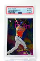 Yordan Alvarez 2020 Topps Finest The Man Rookie #FTM12 RC PSA 10 Gem Mint Astros