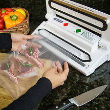 Food Vacuum Sealer System Storage Saver Bags Kitchen Sealing Machine NEW