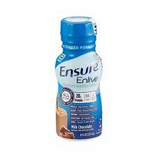 Ensure Enlive Nutritional Shake Chocolate 8 oz Bottle Abbott 64283 24 Ct