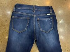 NWT LADIES KANCAN JEANS STRETCH SUPER SKINNY DARK BLUE SIZE 3 / 25 99$ KC7085D