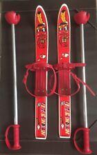 Ancien Ski Enfant Little Indian GASPO Made In Australia 57 Cm Vintage