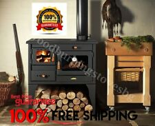 Cooking Wood Burning Stove Oven Cooker Fireplace Cast Iron Top Prity 1P34L10kW.