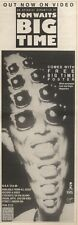 11/2/89Pgn19 Advert: New Un Operachi Romantico By Tom Waits 'big Time' 15x5
