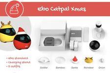Enabot Ebo CatPal Rare Christmas Edition Smart Robot Cat Toy Companion Cats