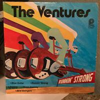 """THE VENTURES - Runnin' Strong (Pickwick) - 12"""" Vinyl Record LP - EX"""