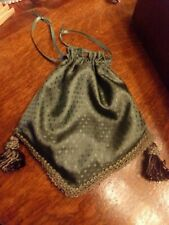 Victorian Attire Civil War Accessory Handmade Basic Simple Purse Reticule New