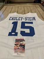 Willie Cauley-Stein Autographed/Signed Jersey JSA COA Kentucky Wildcats