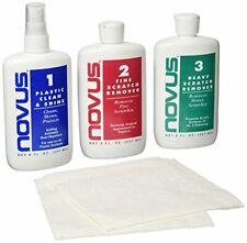 Novus Polish Kit Plastic and Acrylic Cleaner Polish Scratch Remover 8oz Cd/Dvd