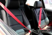 BMW E30 Rote Sicherheitsgurte M3 E30 Red Seat Belts E36/E46/E39/E34/M5/