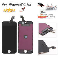 For iPhone 5C Replacement LCD Display Screen Touch Black Digitizer Full Assembly