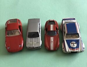 Solido Four Race Cars.