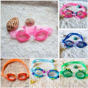 Kids Fun Goggles Swimming Goggles Animal Colourful Swimming Glasses Unisex
