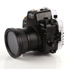 Meikon 60m Waterproof Underwater Diving Photo Case For Nikon D750 & 105mm Lens