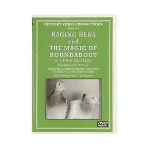 Racing with Hens & the Magic of Roundabout DVD John Halstead Racing Pigeons