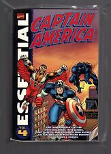 Essential Captain America Vol. 4 TPB (2008, $16.99 Cover) VF+ Buscema, Colletta