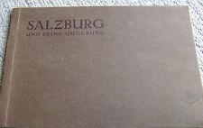 RARE vintage (1930s?) SEPIA PHOTGRAPHS book H. Gurtler SALZBURG Germany UMGEBUNG