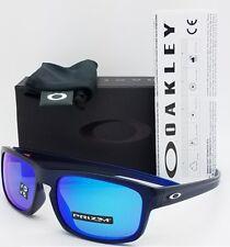NEW Oakley Sliver Stealth sunglasses Blue Prizm Sapphire Polarized 9409-07 LEGIT