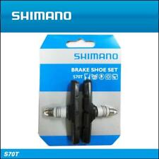 Shimano S70T V-Brake Pads 70mm Long Rubber BR-M530 Genuine MTB Hybrid Y8GV9801A