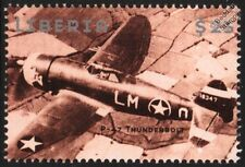 WWII Republic P-47 THUNDERBOLT Fighter-Bomber Aircraft Stamp