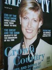 Majesty Magazine V20 #12 Top Ten Monarchs, Royal Recipes, Royal Popularity-Past