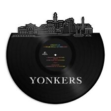 Yonkers New York Vinyl Wall Art Cityscape Bachelor Gift Home Room Decoration