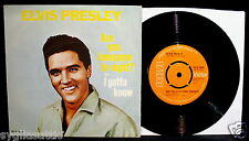 ELVIS PRESLEY-Are You Lonesome Tonight-Rare UK Picture Sleeve+45-RCA VICTOR 2699