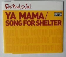 FATBOY SLIM CD SINGLE YA MAMA/SONG FOR SHELTER (PUSH THE TEMPO VIDEO)