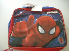 MARVEL COMIC BOOK HEROES SPIDERMAN INSULATED LUNCH BAG - BRAND NEW WITH TAGS