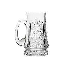 Neman Glassworks M6511, 16-Oz Hand Made Russian Crystal Vintage Beer Mug