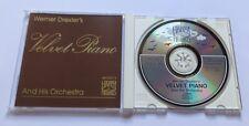 VELVET PIANO--WERNER DREXLER AND HIS ORCHESTRA CD HR- 2287-3