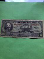 1978 México 10000 Pesos Matias Romero Mexican bank note