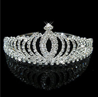 Crown Bridal Tiara Rhinestone Headpiece Crystal Bridal Headband Hair Accessories