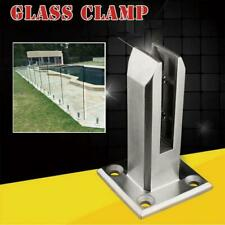 Steel Floors Standing Stairs Balcony Pool Glass Clamp Spigots Balustrade Railing