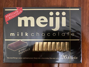 Meiji Milk Chocolate box 26 Blocks 120g