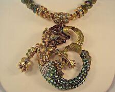 Kirks Folly NWOT Rip Tide Merman Magnetic Pendant & Interchangeable Necklace