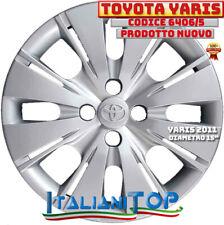 """TOYOTA YARIS 2011 Copricerchio Borchia UNO (1) coppa ruota diametro 15"""" 6406/5"""