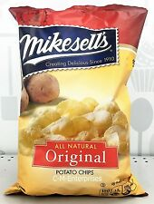 Mikesell's All Natural Original Potato Chips 10 oz Mike Sell's Sells