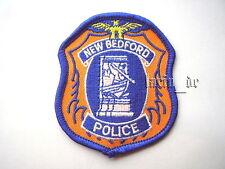 USA Polizei Abzeichen Aufnäher für Uniform New Bedford Police Patch Ecusson
