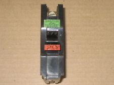 FEDERAL PACIFIC 110 VOLT/20 AMP CIRCUIT BREAKER