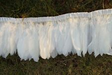 New 100pcs 6-8inch swan shoulder feathers dyeing for Craft Supplies white