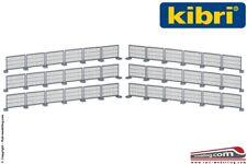 KIBRI 38649 - H0 1:87 - Set protezioni metalliche da cantiere e lavori stradali