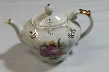 Vintage  Functional  Musical Teapot  Tea for Two  Japan  1950's Music Box Works