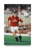 Arthur Albiston Signed 6x4 Photo Manchester United Autograph Memorabilia + COA
