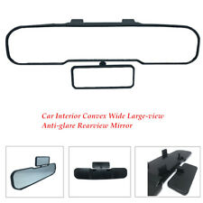 Car HD Glass Rearview Mirror Clip On Curve Observe Baby Widen Vision Large-view